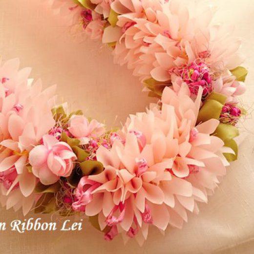 桜,リボンレイ,さいたま